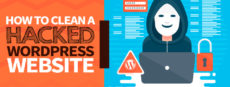 Featured image *How to clean a hacked WordPress website*
