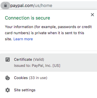 HTTPS Certificate with EV