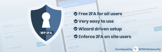 Say hello to WP 2FA – a new free WordPress two-factor authentication plugin