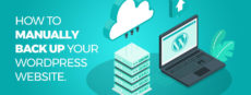 Featured image *How to manually backup your WordPress*