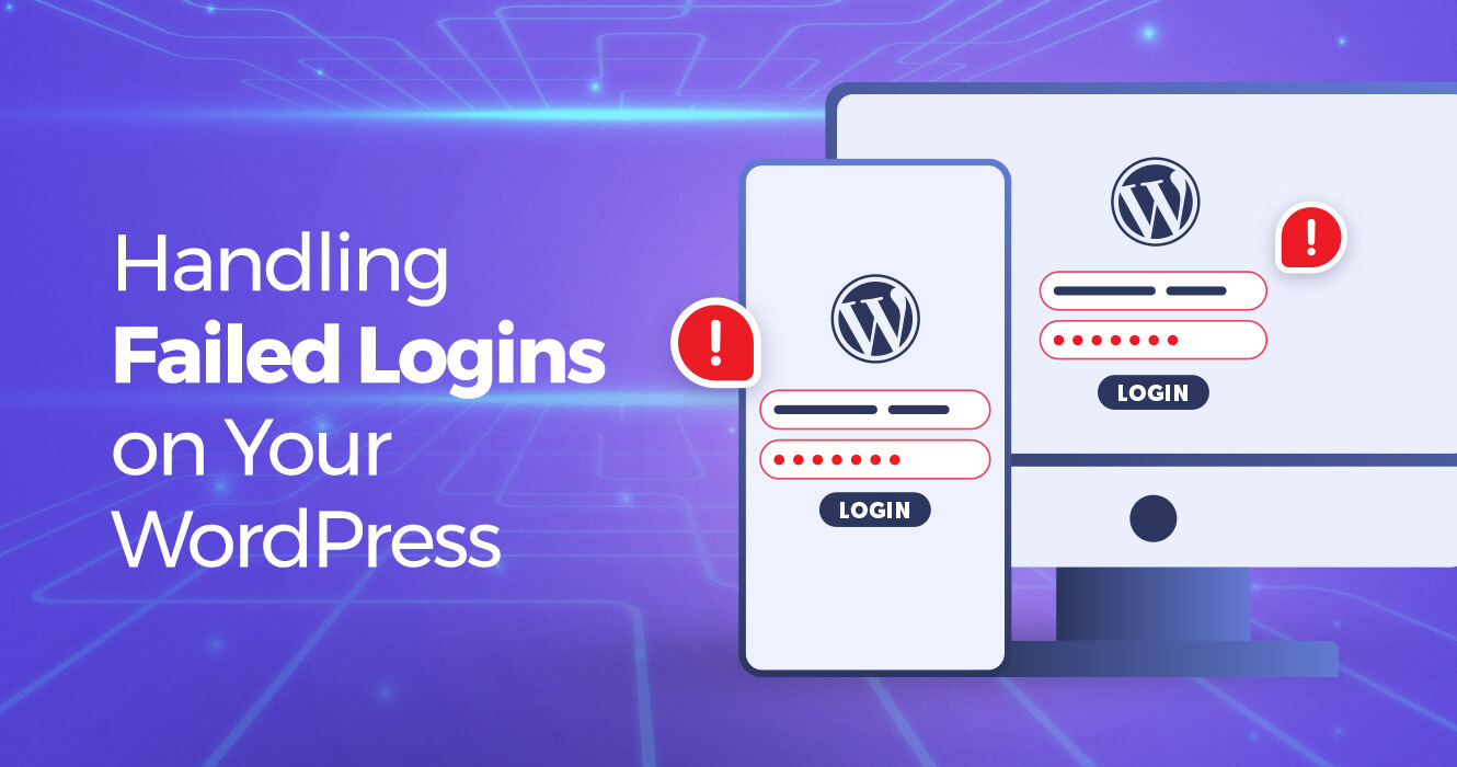 Handling WordPress failed login attempts on your site