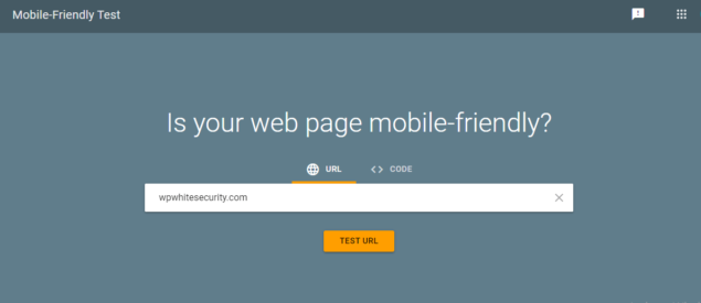 Checking and optimizing your site for mobile devices